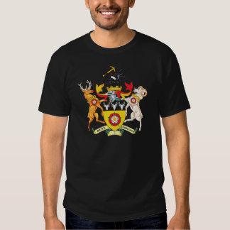 Escudo de armas de Derbyshire Remera