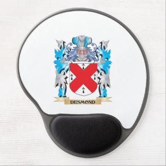 Escudo de armas de Desmond - escudo de la familia Alfombrilla De Ratón Con Gel