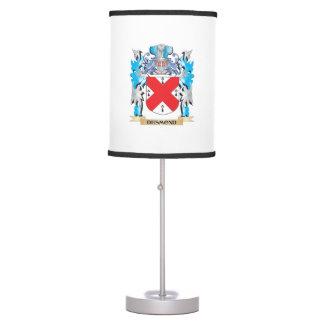 Escudo de armas de Desmond - escudo de la familia Lámpara De Mesilla De Noche