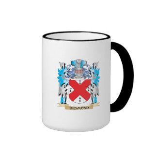 Escudo de armas de Desmond - escudo de la familia Taza A Dos Colores