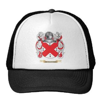 Escudo de armas de Desmond Gorras De Camionero