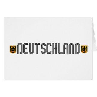 ¡Escudo de armas de Deutschland Felicitacion