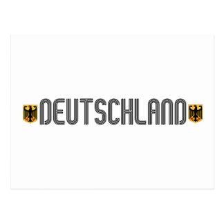 ¡Escudo de armas de Deutschland Postal
