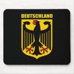 Escudo de armas de Deutschland Tapete De Raton