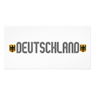 ¡Escudo de armas de Deutschland Tarjeta Personal Con Foto