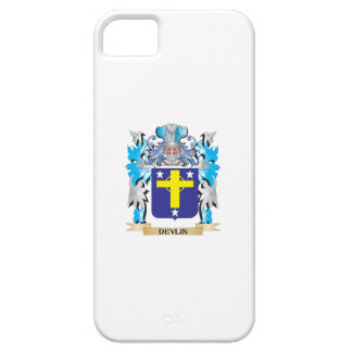 Escudo de armas de Devlin - escudo de la familia iPhone 5 Case-Mate Coberturas