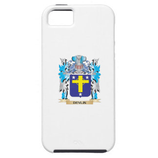 Escudo de armas de Devlin - escudo de la familia iPhone 5 Carcasas