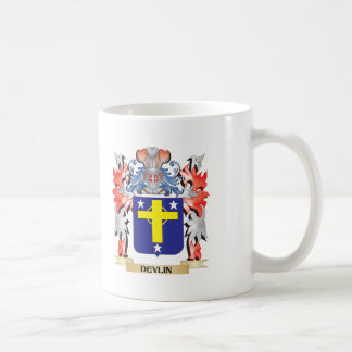 Escudo de armas de Devlin - escudo de la familia Taza De Café