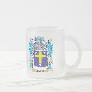 Escudo de armas de Devlin - escudo de la familia Taza De Cristal