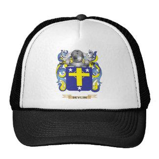 Escudo de armas de Devlin Gorra