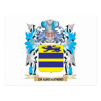 Escudo de armas de Di-Gregorio - escudo de la Postal