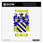 Escudo de armas de Díaz iPod Touch 4G Calcomanías