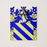 Escudo de armas de Díaz Rompecabeza Con Fotos