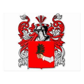 Escudo de armas de Dibenedetto Tarjeta Postal