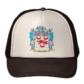 Escudo de armas de Dillon - escudo de la familia Gorras