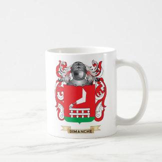 Escudo de armas de Dimanche Taza De Café