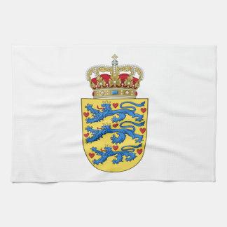 Escudo de armas de Dinamarca Toalla