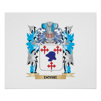 Escudo de armas de Dobie - escudo de la familia