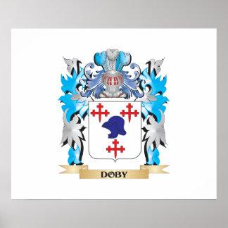 Escudo de armas de Doby - escudo de la familia