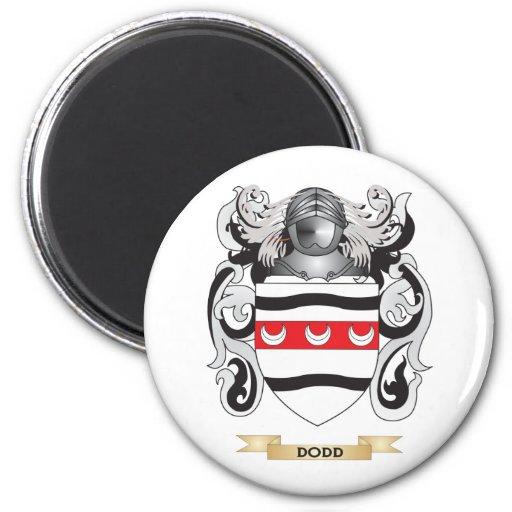 Escudo de armas de Dodd Imanes Para Frigoríficos