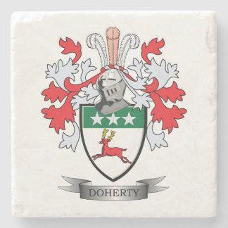 Escudo de armas de Doherty Posavasos De Piedra