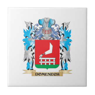 Escudo de armas de Domenech - escudo de la familia Azulejo Ceramica