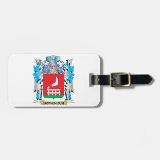 Escudo de armas de Domenech - escudo de la familia Etiquetas Para Maletas