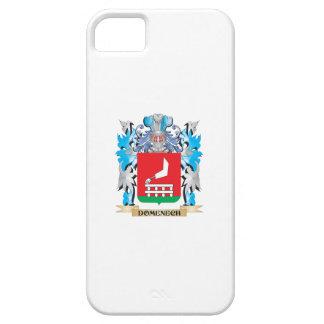 Escudo de armas de Domenech - escudo de la familia iPhone 5 Case-Mate Cárcasa