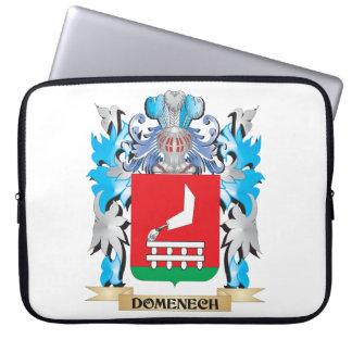 Escudo de armas de Domenech - escudo de la familia Funda Computadora