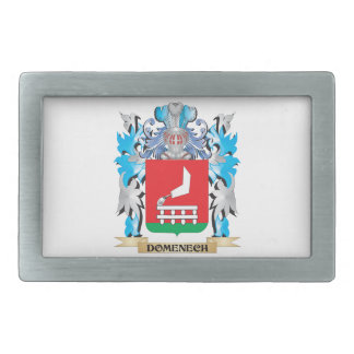 Escudo de armas de Domenech - escudo de la familia Hebillas Cinturón Rectangulares