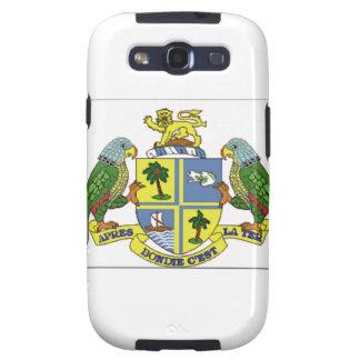 Escudo de armas de Dominica Galaxy S3 Protectores