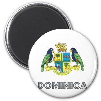 Escudo de armas de Dominica Imán De Frigorífico
