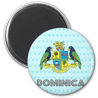 Escudo de armas de Dominica Imán De Frigorifico