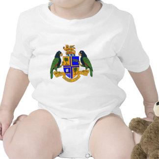 Escudo de armas de Dominica Trajes De Bebé