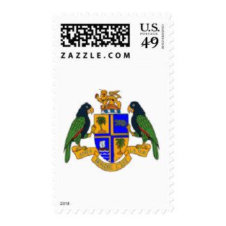 Escudo de armas de Dominica Franqueo