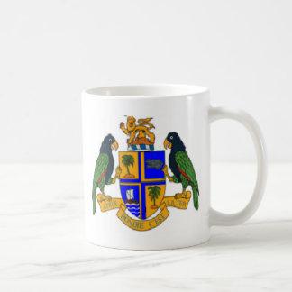 Escudo de armas de Dominica Tazas De Café