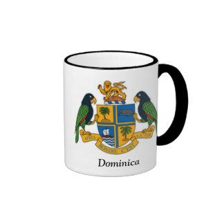 Escudo de armas de Dominica Taza De Café