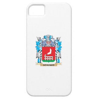 Escudo de armas de Dominico - escudo de la familia iPhone 5 Protector