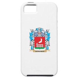 Escudo de armas de Dominico - escudo de la familia iPhone 5 Fundas