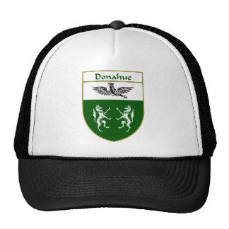Escudo de armas de Donahue/escudo de la familia Gorras