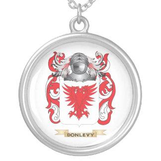 Escudo de armas de Donlevy Colgante Redondo