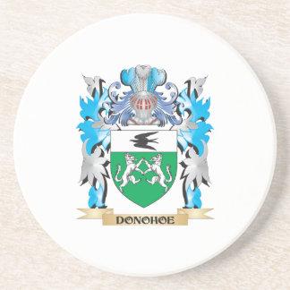Escudo de armas de Donohoe - escudo de la familia Posavasos Diseño