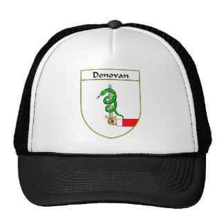 Escudo de armas de Donovan/escudo de la familia Gorro