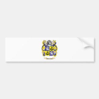 Escudo de armas de Dougal Etiqueta De Parachoque