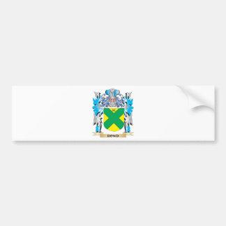 Escudo de armas de Dowd - escudo de la familia Pegatina Para Coche