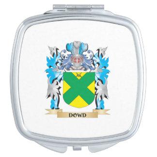 Escudo de armas de Dowd - escudo de la familia Espejo De Viaje