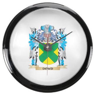 Escudo de armas de Dowd - escudo de la familia Reloj Acuario