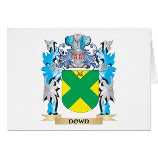 Escudo de armas de Dowd - escudo de la familia Tarjeta Pequeña