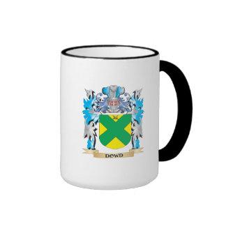 Escudo de armas de Dowd - escudo de la familia Taza A Dos Colores
