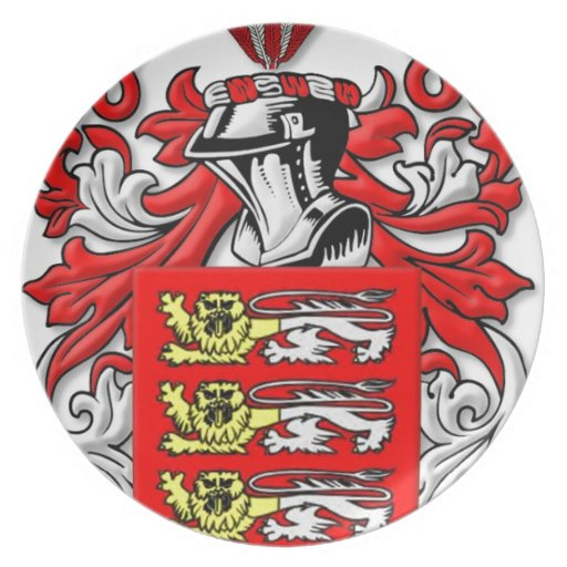 Escudo de armas de Downie Plato De Cena